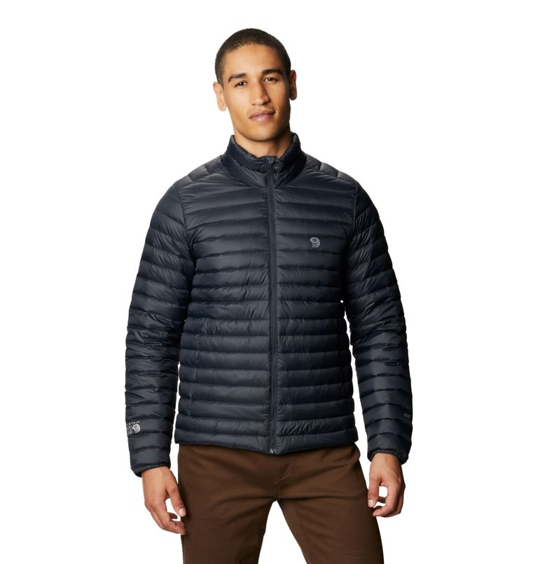 Mt. Eyak/2™ Jacket | 004 | M Men's Mt Eyak/2™ Down Jacket, Dark Storm, front