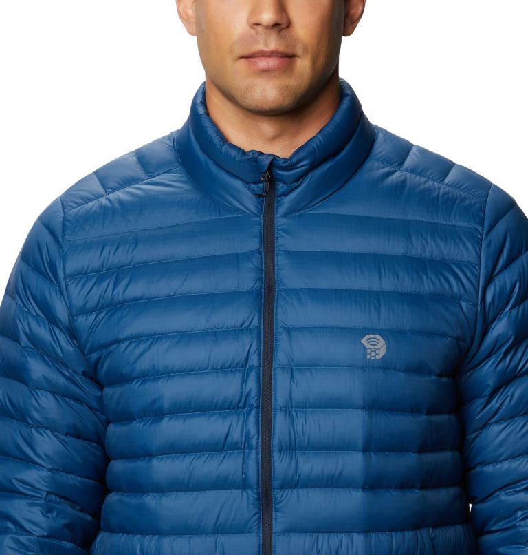 Mt. Eyak/2™ Jacket | 402 | S Men's Mt Eyak/2™ Down Jacket, Blue Horizon, a2