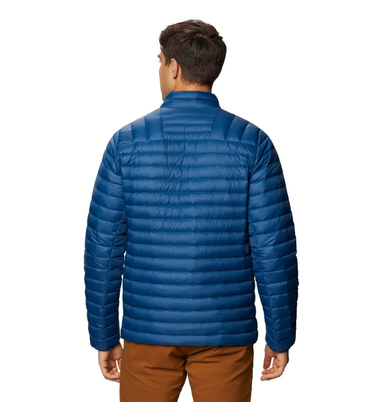 Mt. Eyak/2™ Jacket | 402 | XL Men's Mt Eyak/2™ Down Jacket, Blue Horizon, back