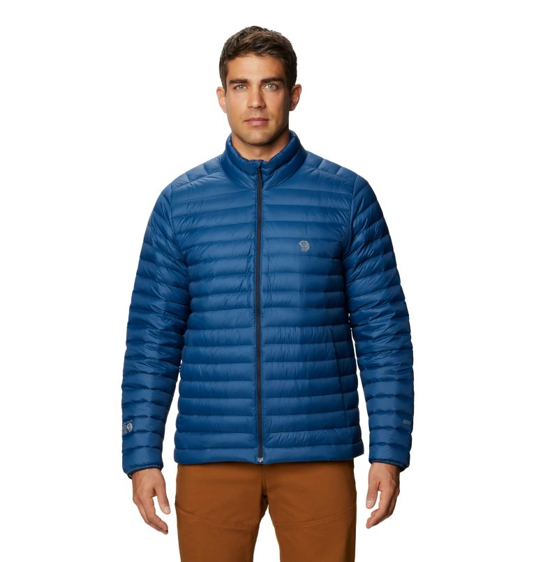 Mt. Eyak/2™ Jacket | 402 | XL Men's Mt Eyak/2™ Down Jacket, Blue Horizon, front