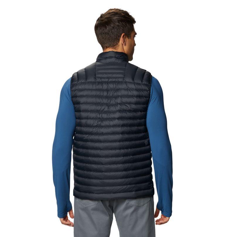 Mt. Eyak/2™ Vest | 004 | S Men's Mt Eyak/2™ Vest, Dark Storm, back
