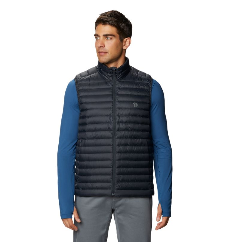 Mt. Eyak/2™ Vest | 004 | XXL Men's Mt Eyak/2™ Vest, Dark Storm, front