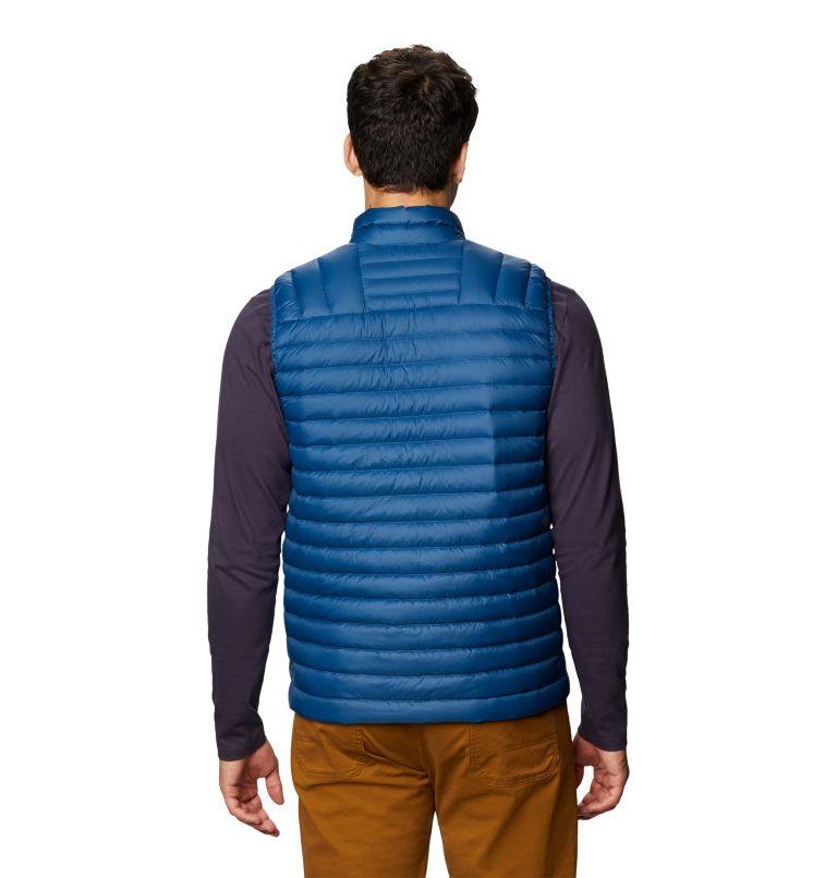 Mt Eyak/2™ Vest | 402 | S Men's Mt Eyak/2™ Vest, Blue Horizon, back
