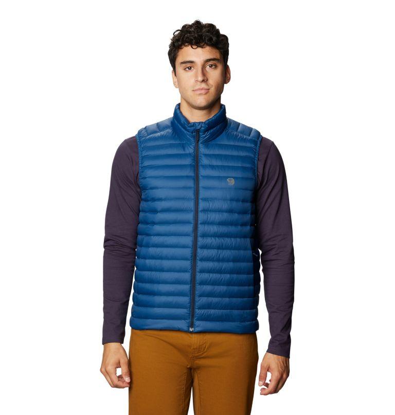Mt Eyak/2™ Vest | 402 | S Men's Mt Eyak/2™ Vest, Blue Horizon, front
