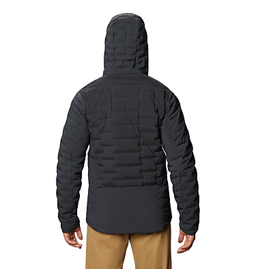 Men's Stretchdown™ Hybrid Hoody Stretchdown™ Hybrid Hoody | 509 | L, Dark Storm, back