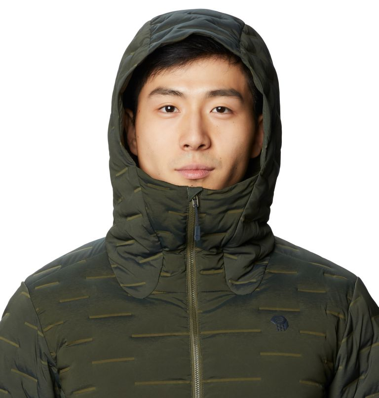 Men's Stretchdown™ Hybrid Hoody Men's Stretchdown™ Hybrid Hoody, a2