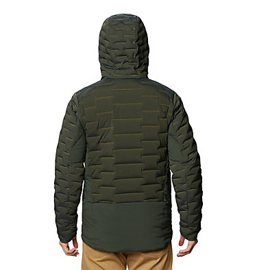 Men's Stretchdown™ Hybrid Hoody Stretchdown™ Hybrid Hoody | 509 | L, Black Sage, back
