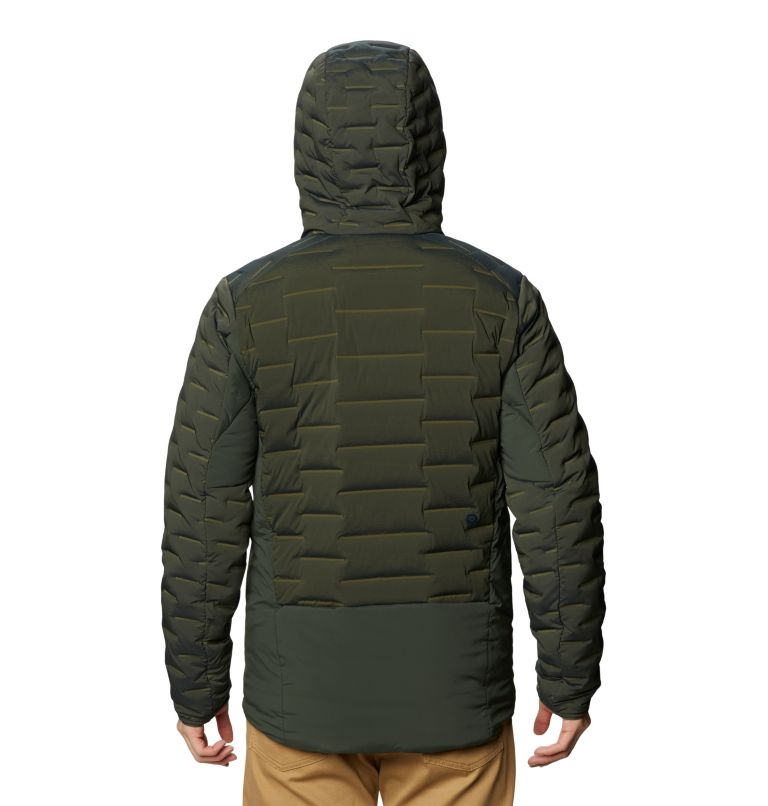 Men's Stretchdown™ Hybrid Hoody Men's Stretchdown™ Hybrid Hoody, back