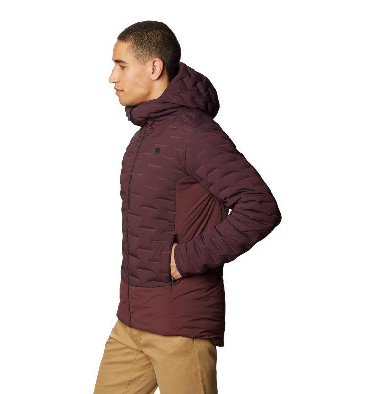 Men's Stretchdown™ Hybrid Hoody Men's Stretchdown™ Hybrid Hoody, a1