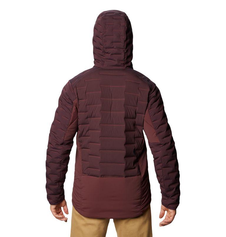 Stretchdown™ Hybrid Hoody | 509 | S Men's Stretchdown™ Hybrid Hoody, Darkest Dawn, back