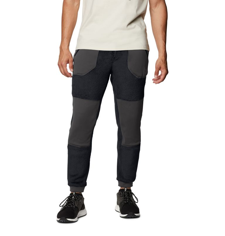 Monkey Fleece™ Pant | 010 | S Men's Polartec® High Loft™ Pant, Black, front