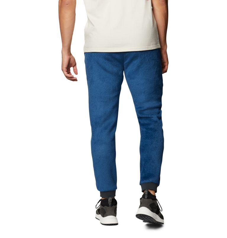 Monkey Fleece™ Pant | 402 | S Men's Polartec® High Loft™ Pant, Blue Horizon, back