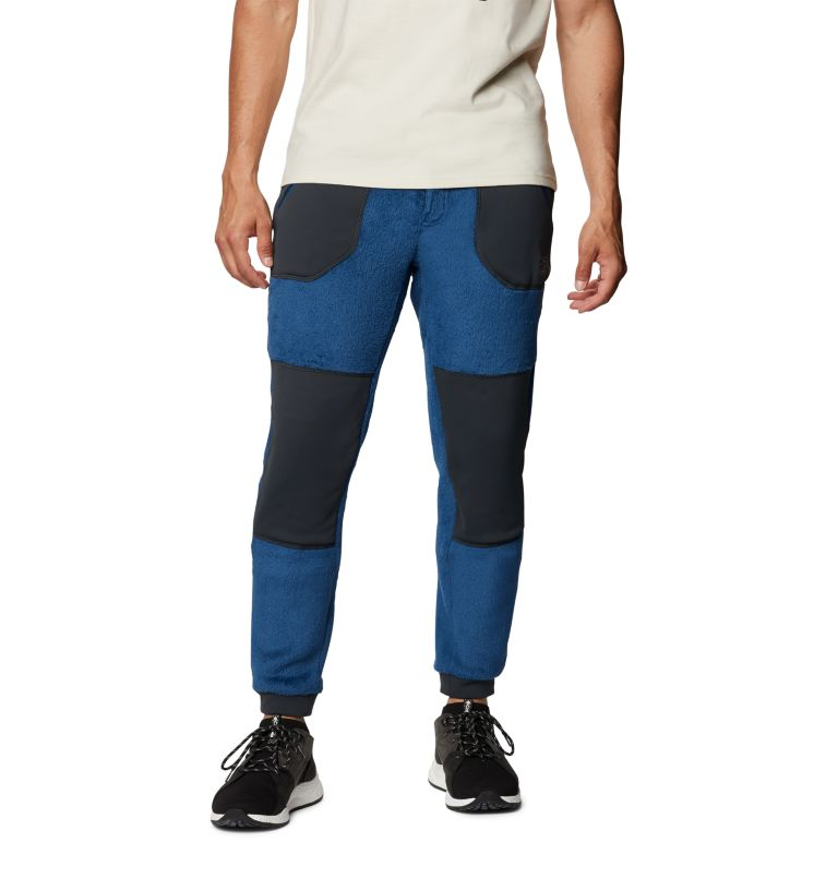 Monkey Fleece™ Pant | 402 | S Men's Polartec® High Loft™ Pant, Blue Horizon, front