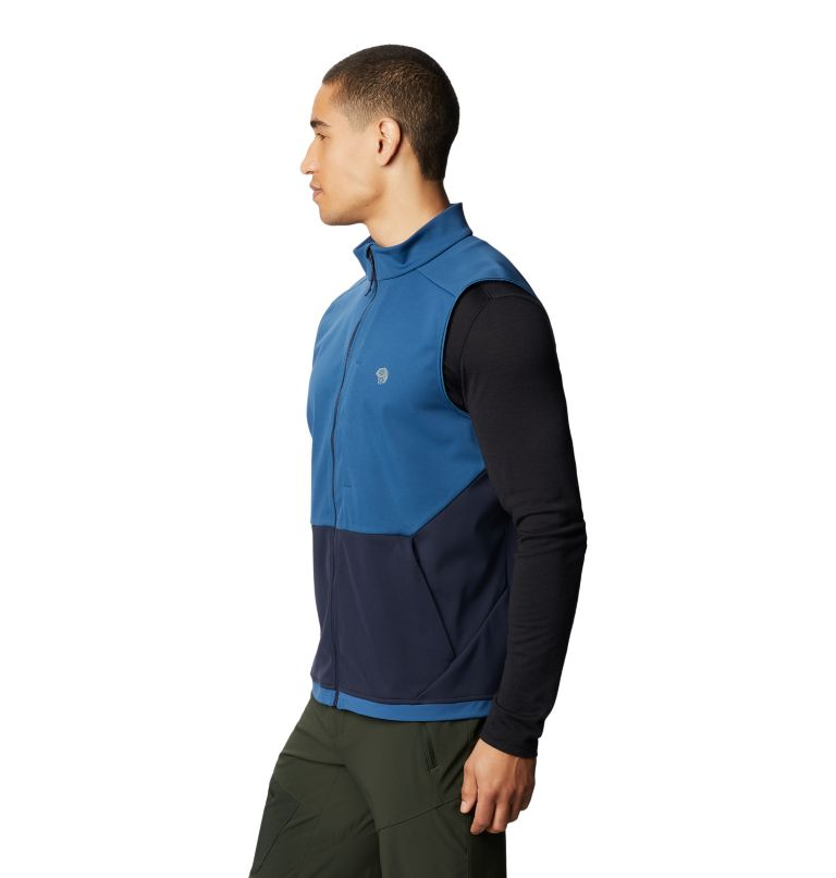 Mtn. Tech/2™ Vest | 402 | S Men's Mtn. Tech/2™ Vest, Blue Horizon, a1