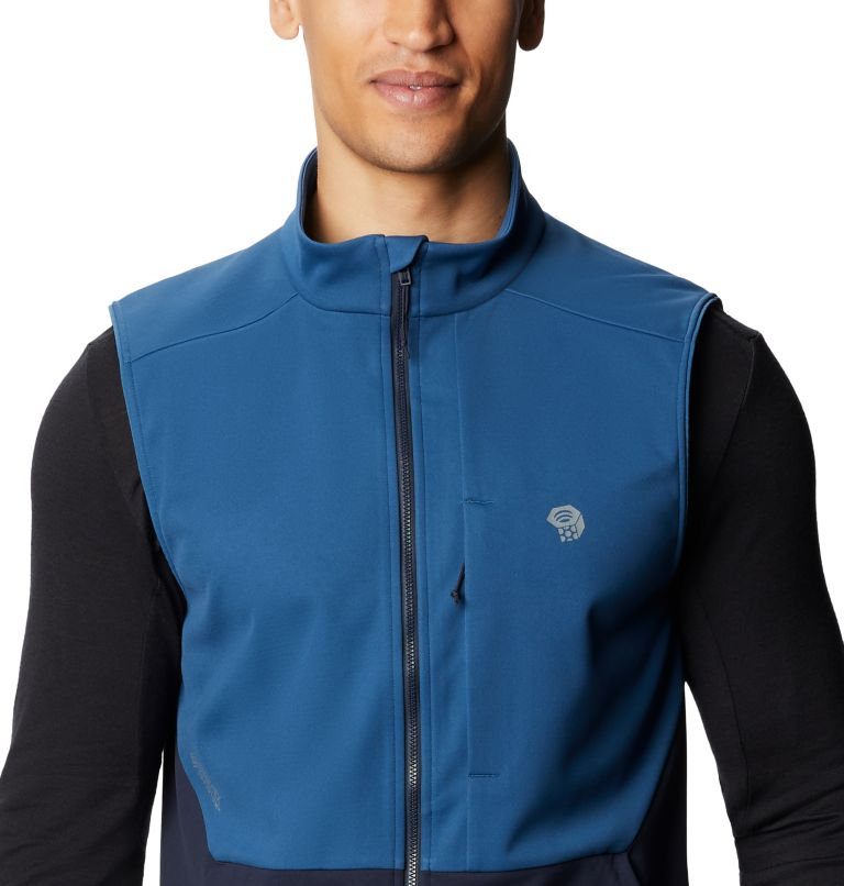Mtn. Tech/2™ Vest | 402 | S Men's Mtn. Tech/2™ Vest, Blue Horizon, a2