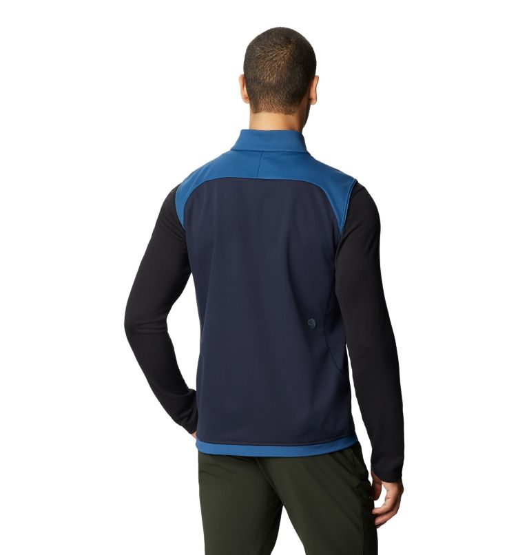 Mtn. Tech/2™ Vest | 402 | XL Men's Mtn. Tech/2™ Vest, Blue Horizon, back