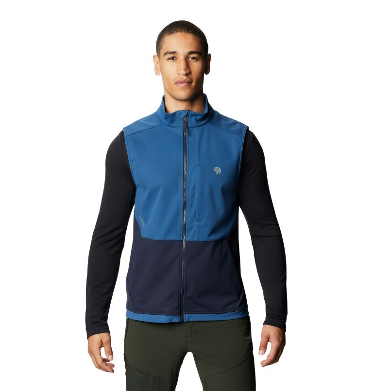 Mtn. Tech/2™ Vest | 402 | S Men's Mtn. Tech/2™ Vest, Blue Horizon, front