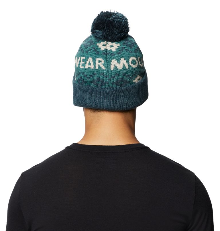 MHW Gas Station™ Beanie | 447 | O/S Tuque MHW Gas Station™, Washed Turq, back