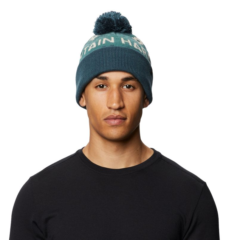 MHW Gas Station™ Beanie | 447 | O/S MHW Gas Station™ Beanie, Washed Turq, front