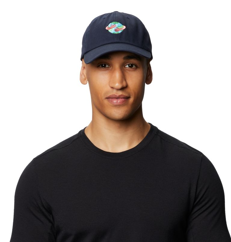 Keep Earth Awesome™ Dad Hat | 406 | O/S Keep Earth Awesome™ Dad Hat, Dark Zinc, front
