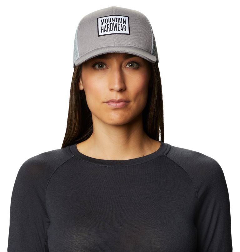 Hardware MHW™ Trucker Hat | 073 | O/S Hardware MHW™ Trucker Hat, Manta Grey, front