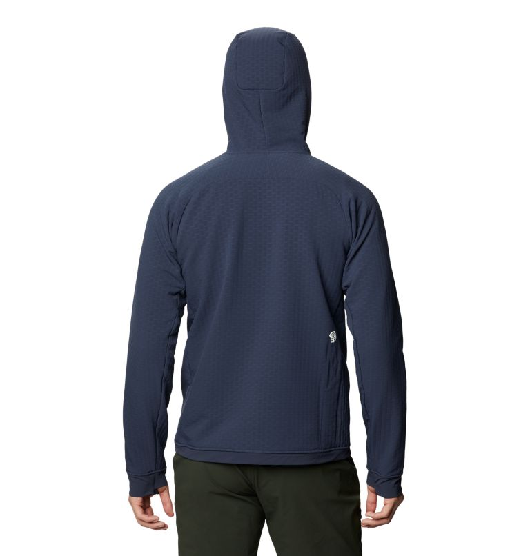 Keele™ Ascent Hoody | 406 | S Men's Keele™ Ascent Hoody, Dark Zinc, back