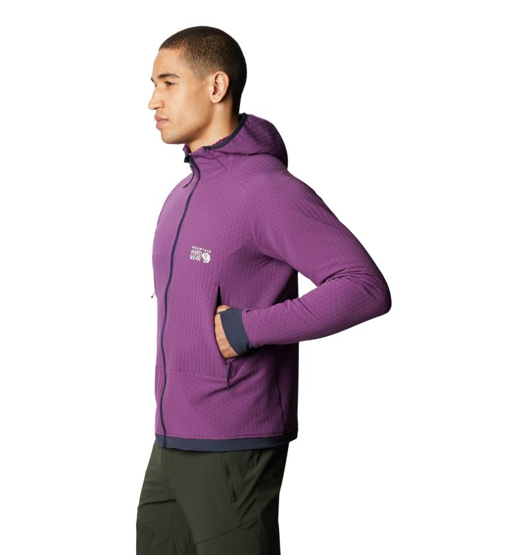 Keele™ Ascent Hoody | 502 | L Men's Keele™ Ascent Hoody, Cosmos Purple, a1