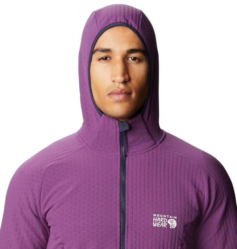 Keele™ Ascent Hoody   502   XL Men's Keele™ Ascent Hoody, Cosmos Purple, a2