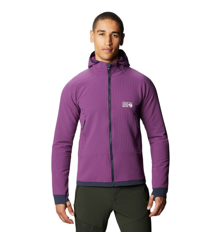 Keele™ Ascent Hoody | 502 | L Men's Keele™ Ascent Hoody, Cosmos Purple, front