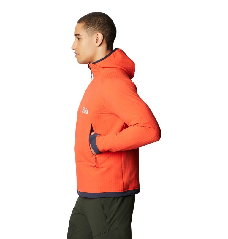 Keele™ Ascent Hoody | 636 | S Chandail à capuchon Keele™ Ascent Homme, Fiery Red, a1