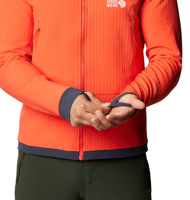 Keele™ Ascent Hoody | 636 | S Chandail à capuchon Keele™ Ascent Homme, Fiery Red, a3