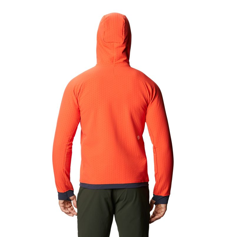 Keele™ Ascent Hoody | 636 | S Chandail à capuchon Keele™ Ascent Homme, Fiery Red, back
