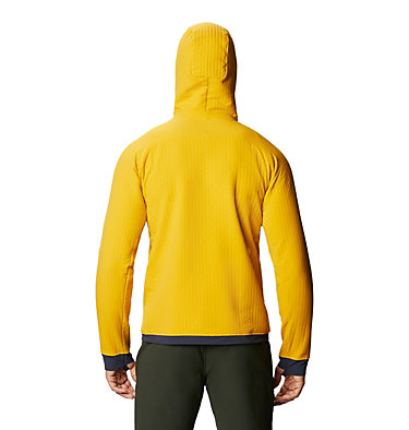 Chandail à capuchon Keele™ Ascent Homme Keele™ Ascent Hoody | 636 | L, Gold Hour, back