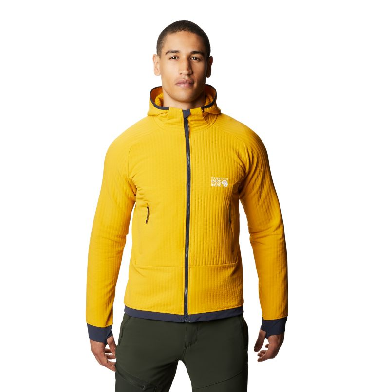 Keele™ Ascent Hoody | 750 | XL Men's Keele™ Ascent Hoody, Gold Hour, front