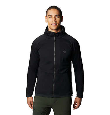 Men's Mtn. Tech/2™ Hoody Mtn. Tech/2™ Jacket | 831 | L, Black, front