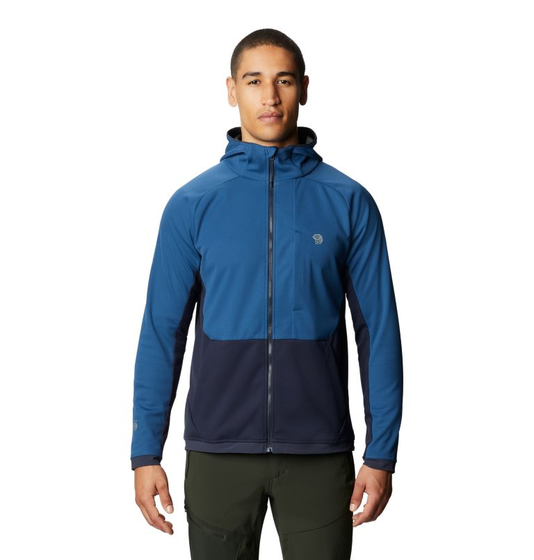 Mtn. Tech/2™ Jacket | 402 | XL Men's Mtn. Tech/2™ Hoody, Blue Horizon, front