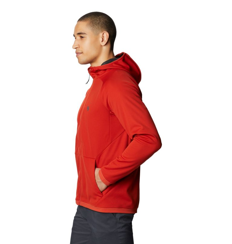 Mtn. Tech/2™ Jacket   831   XXL Men's Mtn. Tech/2™ Hoody, Desert Red, a1