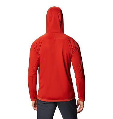 Men's Mtn. Tech/2™ Hoody Mtn. Tech/2™ Jacket | 831 | L, Desert Red, back