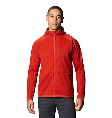 Men's Mtn. Tech/2™ Hoody Mtn. Tech/2™ Jacket | 831 | L, Desert Red, front