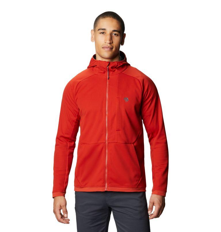 Mtn. Tech/2™ Jacket   831   XXL Men's Mtn. Tech/2™ Hoody, Desert Red, front
