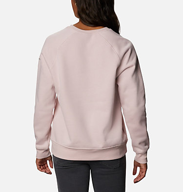 Women's Woodlane Park™ Logo Crew Sweatshirt Woodlane Park™ Logo Crew | 618 | L, Mineral Pink, Flint Grey, back