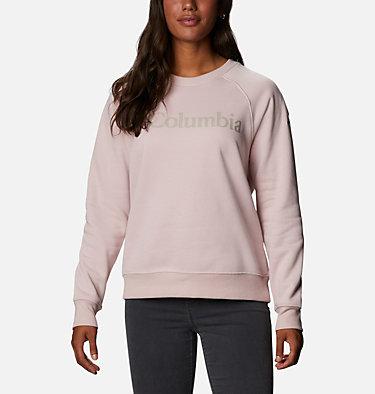 Women's Woodlane Park™ Logo Crew Sweatshirt Woodlane Park™ Logo Crew | 618 | L, Mineral Pink, Flint Grey, front