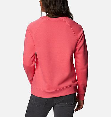 Women's Woodlane Park™ Logo Crew Sweatshirt Woodlane Park™ Logo Crew | 618 | L, Bright Geranium, White, back