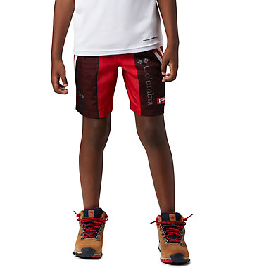 Kids' Disney Riptide™ Shorts Disney - Y Riptide Short | 691 | L, Bright Red, 3/4 front