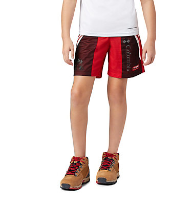 Kids' Disney Riptide™ Shorts Disney - Y Riptide Short | 691 | L, Bright Red, front