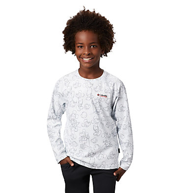 Kids' Disney Sun Deflector™ Top Disney - Y Sun Deflector Top | 101 | L, White, 3/4 front