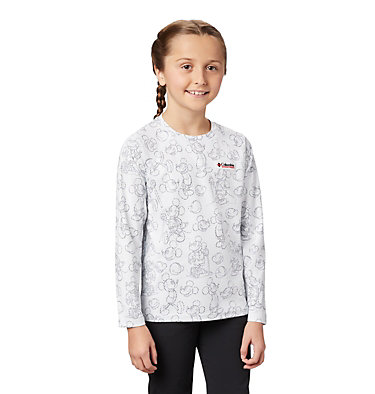 Kids' Disney Sun Deflector™ Top Disney - Y Sun Deflector Top | 101 | L, White, front