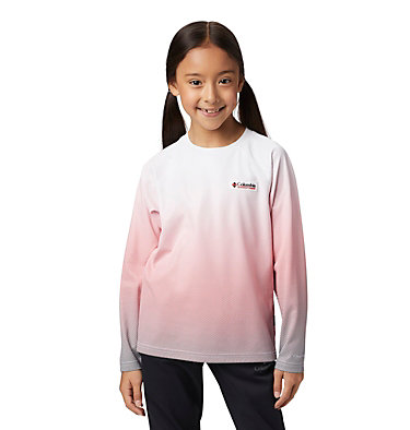 Kids' Disney Sun Deflector™ Top Disney - Y Sun Deflector Top | 101 | L, White Gradient Print, 3/4 front