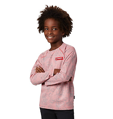Kids' Disney Sun Deflector™ Top Disney - Y Sun Deflector Top | 101 | L, Bright Red, 3/4 front