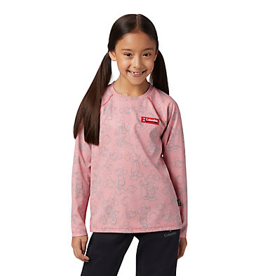 Kids' Disney Sun Deflector™ Top Disney - Y Sun Deflector Top | 101 | L, Bright Red, front